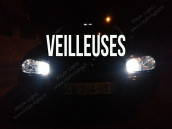 Veilleuses Blanc Pur pour VW Golf 4 avec Bi-Xénon