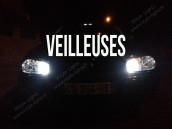 Veilleuses Blanc Pur pour VW Golf 3