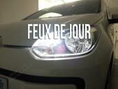 Feux de Jour/Veilleuses Led Blanc Pur - Seat MII