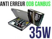 Kit Xénon HID 35W H3 - Anti Erreur ODB+