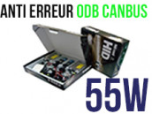 Kit Xénon HID 55W H3 - Anti Erreur ODB+