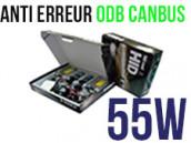 Kit Xénon HID 55W H8 - Anti Erreur ODB+