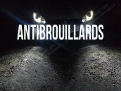 Pack Anti Brouillards Led pour Volkswagen Polo 6R