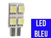 Ampoule Led BLEU W5W - One Face 4