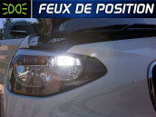Pack Ampoules LED - Feux de Position - BMW Serie 1 F20,F21