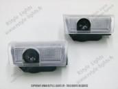 Blocs bas de portes projection Logo 3D MERCEDES Classe B W246 - Classe E W212