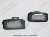 Blocs lampes Led d'éclairage de plaque MERCEDES Classe C W203