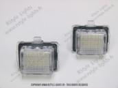 Blocs lampes Led d'éclairage de plaque MERCEDES W204  W204 W221 C207 W212 C216