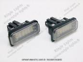 Blocs lampes Led d'éclairage de plaque MERCEDES W211 W219 R171