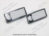 Blocs lampes Led d'éclairage de plaque AUDI A6 C5