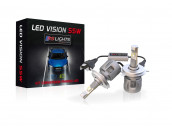 Kit Ampoules H4 Led Vision 55W