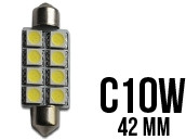 Ampoule Led Navette C10W - Double Light 8