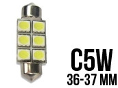 Ampoule Led Navette C5W - Double Light 6