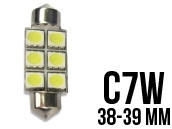 Ampoule Led Navette C7W - Double Light 6