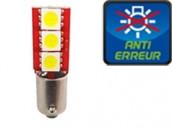 Ampoule Led T4W - One Face 3 - Anti-erreur ODB