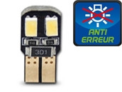 Ampoule Led W5W - Dual Face 4 - Anti-erreur ODB