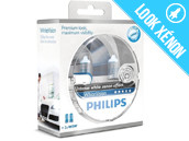 Ampoules H4 Philips WhiteVision
