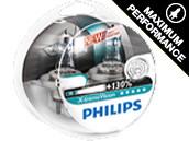 Ampoules H4 Philips X-treme Vision+130