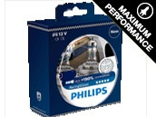 Ampoules H7 Philips Racing Vision +150