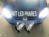 Kit Ampoules Led Vision - Volkswagen Golf 5