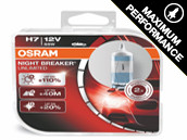 Ampoules H8 Osram Night Breaker Unlimited +110