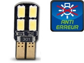 Ampoule Led W5W - Dual Face 8 - Anti-erreur ODB