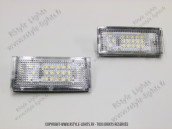 Blocs lampes Led d'éclairage de plaque BMW E39 BREAK