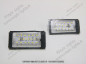 Blocs lampes Led d'éclairage de plaque BMW Série 3 E46 Berline BREAK
