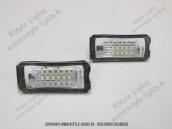 Blocs lampes Led d'éclairage de plaque Mini R56
