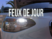 Feux de Jour Blanc Led pour Bmw Série 3 F30, F31, F34GT