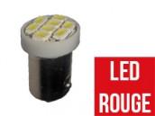 Ampoule Led ROUGE T4W - Front 8
