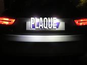 éclairage de plaque full Led pour Audi A1