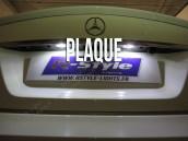 Eclairage de plaque à Led  pour Mercedes Classe C W204