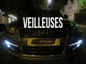 Veilleuses Blanc Pur pour Audi Q7