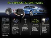 Kit Allumage Automatique des Phares - Skoda Superb 1