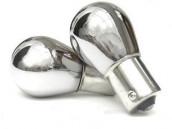 Pack 2 ampoules PY21W Chromé clignotants