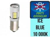 Ampoule Led H6W - Ice Blue 10 000 K - Silver 18 - Anti Erreur