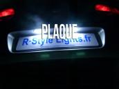 Eclairage de plaque à Led pour Superb 3U