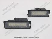 Blocs lampes Led éclairage de plaque VAG type G5