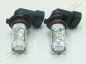Pack Anti Brouillards LED H8 80W