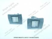 Blocs lampes Led d'éclairage de plaque MERCEDES CLASSE A W176 GLA