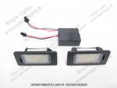 Blocs lampes Led d'éclairage de plaque AUDI TYPE Q5+ODB