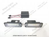 Blocs lampes Led éclairage de plaque VAG type G6