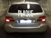 Eclairage de plaque d'immatriculation Mercedes Classe E W212
