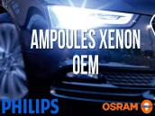 Ampoules de phare Xénon d'origine pour Skoda Superb 3T