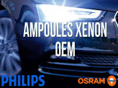 Ampoules de phare Xénon d'origine pour Skoda Fabia 2