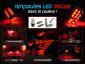 Ampoule Led ROUGE - Navette C7W