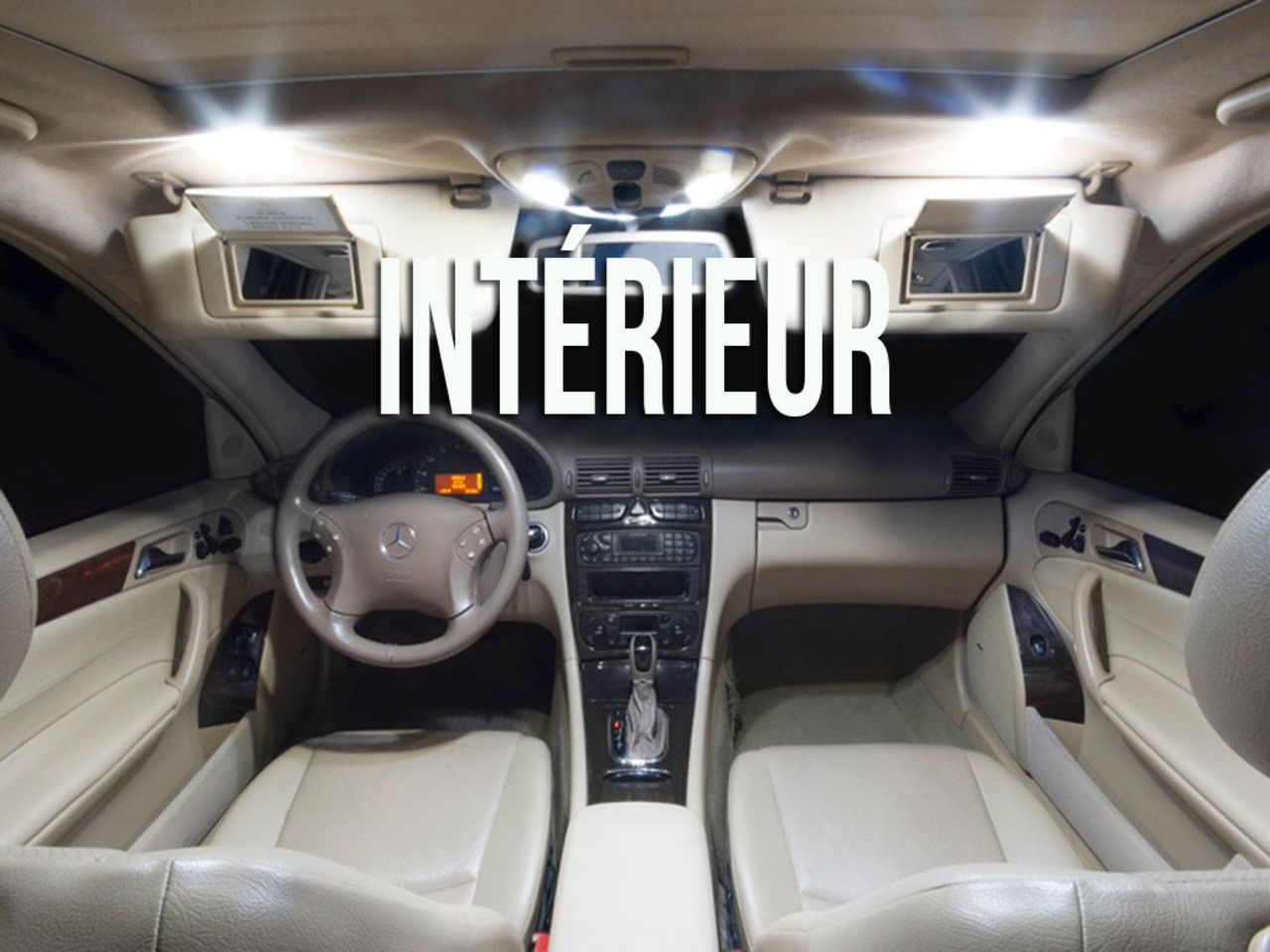 Mercedes w220s classe-vous éclairage Leselicht éclairage
